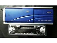 Jvc car cassette receiver with 12 disc cd changer
