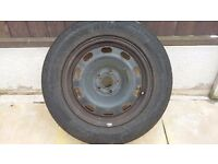 vw mk4 rim and tyre 195/65 R15