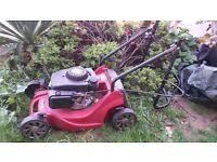 Petrol Lawn mower - Mountfield - handle broken