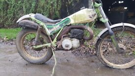 Italjet twinshock trials bike for restoration