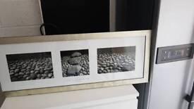 Zen stones triptych picture