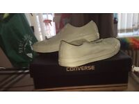PASTEL GREEN CONVERSE SIZE 7-8 QUICK SALE IF POSSIBLE