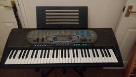 Casio CTK-571 Keyboard - with stand