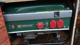 Parkside 96dB petrol generator