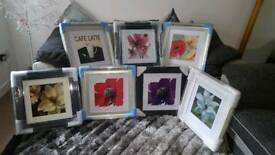 New pictures £22 each in various frames