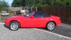 2007 MAZDA MX5 for sale.low mileage £4999 no silly offers