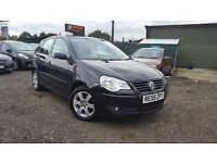 VW Polo 1.4 Manual 5 Door LOW Mileage Finance Available 3 Months Free Warranty