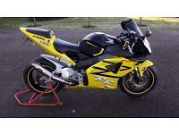 HONDA CBR 954 RR FIREBLADE 2003 Not Suzuki gsxr Yamaha R1 Kawasaki zx10r