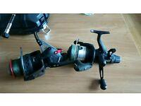 Baitrunner fishing reels (pike carp)