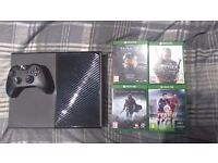 1TB Xbox One w/ 5 Games - 8 Months Old - Very Good Condition