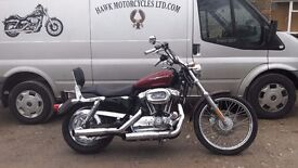 SOLD LOVELY 2005 HARLEY-DAVIDSON XL 1200 C STAGE 1 AND EXTRAS LOW MILEAGE