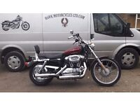 DEPOSIT RECEIVED LOVELY 2005 HARLEY-DAVIDSON XL 1200 C STAGE 1 AND EXTRAS LOW MILEAGE