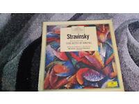 the great composers Stravinsky vintage vinyl lp record