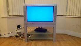 Philips 32inch colour tv with trolly