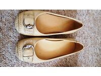 Hush Puppies: two pairs of comfortable flat shoes
