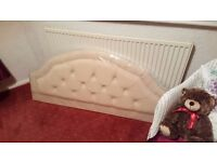 New Cream headboard for double bed