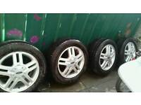 Ford focus wheel and tyres for sale £80