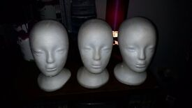 Wig mannequins