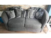 Sofa with cushionback