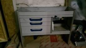 Sortimo van racking/ tool cabinet