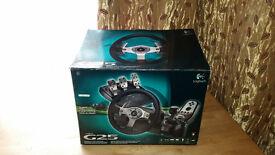 Logitech G25 Steering wheel PC