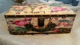 Beautiful briefcase/storage box