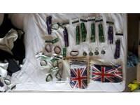 Official Wimbledon Lanyard/ Wristband/Keychains & Union Jack Flags