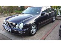 2001 Mercedes-Benz E Class 2.6 E240 Avantgarde 4dr - Low Mileage - Auto - 1 Yr MOT