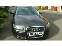 Audi A3 2.0 TFSI 5 doors DSG with paddle shift very good condition