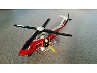 LEGO Fire fighting helicopter