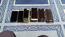 PHONE WHOLESALE , 17 X JOBLOT OF PHONES
