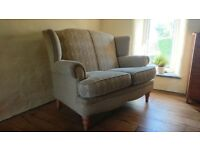 Excellent condition Chesterfield style high back sofa