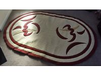 Large oval rug - can deliver