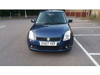 Suzuki SWIFT,2007,Diesl 1.3,HPI clear,5 doors , long MOT,Blue,only 67K