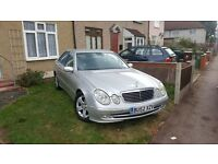 MERCEDES E270 class DIESEL ,low millage, full history 07515641718