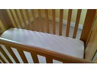 Tutti Bambini Katie Sleigh Mini Cot Bed/Toddler bed/sofa with draw