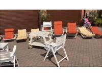 *REDUCED* 16 Piece garden furniture by Triconfort