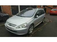 Peugeot 307sw, 7 seats, Panoramic roof