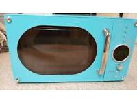 Daewoo Retro Blue Microwave Oven