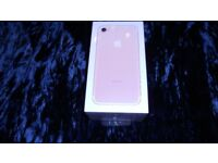Brand New Sealed Apple iPhone 7 Rose Gold 32GB (three)
