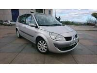FAMILY 7 SEATER GRAND SCENIC 1.6 PETROL WARRANTY