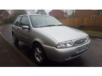 1999 1.25 Ford Fiesta Zetec silver 3 door