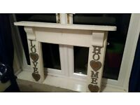 Fireplace mantel / surround