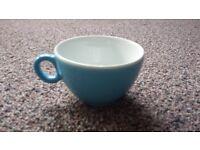 47 Blue 9oz cups - Luna Cappuccino mugs