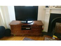 Beautiful wooden tv stand (antique ?)
