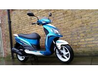 Sym jet 4 125 , 2016 still under warranty!!! legel learner scooter 125cc moped