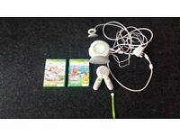 (Educational). Leapfrog Leap TV Console + 2 Games.