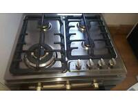 gas hob and electric oven indesit (excellent condition)