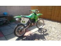Looking for a 50cc bike swap for my kx100