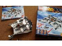 LEGO Star Wars Snowspeeder 75049 Boxed 100% complete